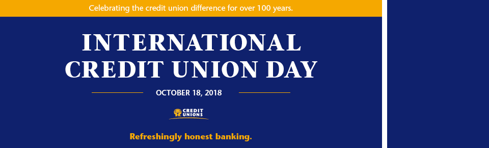 Credit Union Day 2018